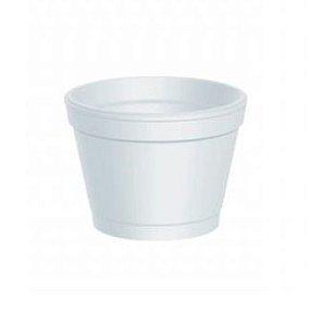 Pote de Isopor 120ml - Caixa com 1.000 unidades