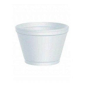 Pote de Isopor 180ml - Caixa com 1.000 unidades