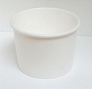 Pote de Papel P1 100ml caixa com 500 unidades