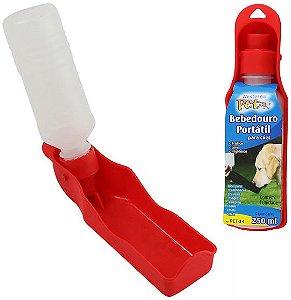 Garrafa bebedouro portátil para cão 250 ml