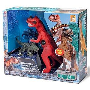 Dinopark T-Rex e 2 Filhotes 0652