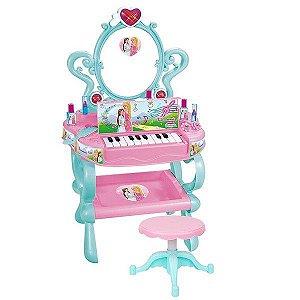 Penteadeira com Piano Sonho de Princesa DMT5647