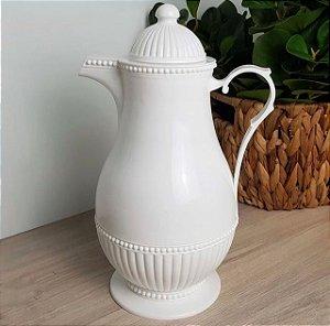 Garrafa Térmica Vintage Branca 1 Litro 7998