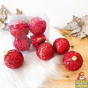 Kit de bolas natalinas com 4