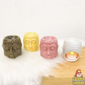 Aromatizador com porta velas - Buda
