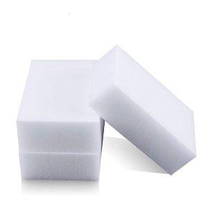 Kit com 3 esponjas mágica para limpeza