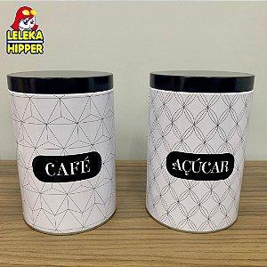 Kit de latas para café