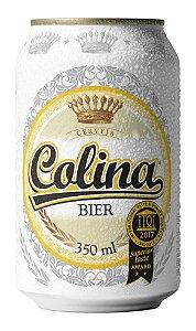 Cerveja Colina Bier Pilsen Lata 350 ml