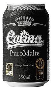 Cerveja Colina Puro Malte Lata 350 ml
