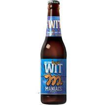 Cerveja Maniacs Belgian WIT 355 ml