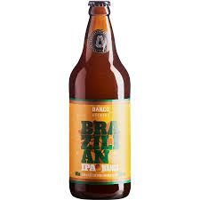 Cerveja Barco Brazilian IPA Manga 600 ml