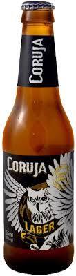 Cerveja Coruja Lager 355 ml