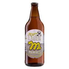 Cerveja Maniacs Craft Lager 600 ml