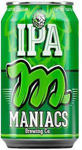 Cerveja Maniacs Ipa Lata 350 ml