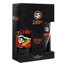 Kit Coruja Strix 600 ml - Garrafa + Copo