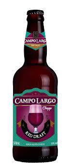 Garrafa Chopp Campo Largo Red Draft 500 ml - Vinho