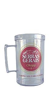 Caneca Personalizada Serras Gerais 500 ml - Acrílico
