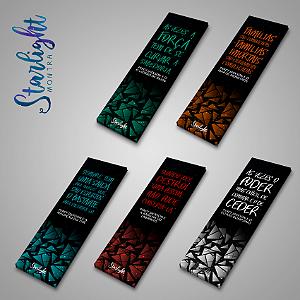 Marcador de página | Kit - Percy Jackson