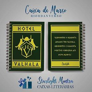Caderninho | Hotel Valhala
