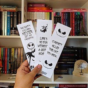 KIT | O Estranho Mundo de Jack (3 marcadores + 2 cards + 2 bottons)