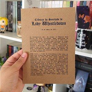 Card Lady Whistledown de Os Bridgertons