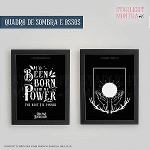 Quadro | Sombras e Ossos (Shadow and Bone)