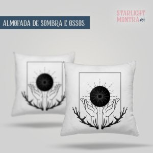 KIT Sombra e Ossos (Shadow and Bone) | Almofada + Caneca