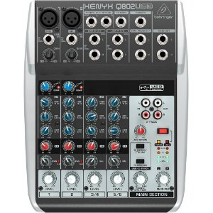 Q802USB - MIXER XENYX - 110V - BEHRINGER