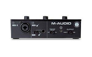 Interface M-audio M-track Solo Usb - 1 Ano de Garantia