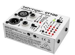 CT100 - TESTADOR DE CABOS - BEHRINGER