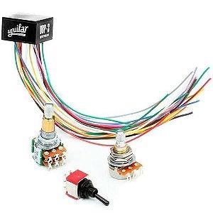 Pre Amplificador Aguilar Obp3 Sk - 3 Bandas 2knob Ativo Pass
