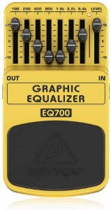 PEDAL EQUALIZADOR P/ GUITARRA - BEHRINGER - EQ700