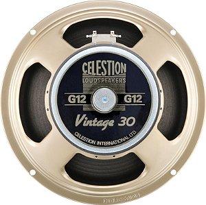 """Alto falante p/Guitarra 12"""" 60W 8 Ohms Vintage 30-Celestion"""