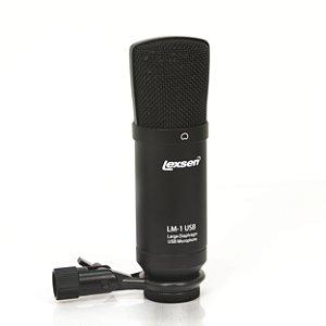 Microfone Condensador Cardioide - LM-1 USB - Lexsen