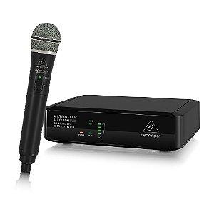 Microfone sem fio digital 2.4Ghz - ULM300MIC - Behringer