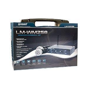 Microfone sem fio Bi-Volt - LM-WM258 - Lexsen