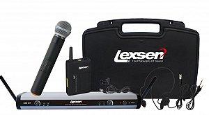 Microfone sem fio BiVolt - LWM-58 KIT - Lexsen