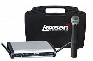 Microfone sem fio BiVolt - LWM-58 - Lexsen