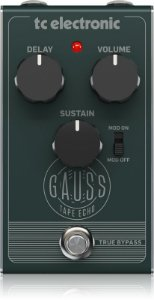 Pedal para Guitarra - GAUSS TAPE ECHO –  TC Electronic