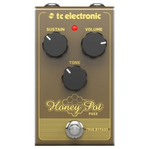 Pedal para Guitarra - HONEY POT FUZZ - TC Electronic