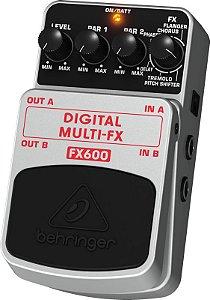 Pedal para guitarra - FX600 - Behringer