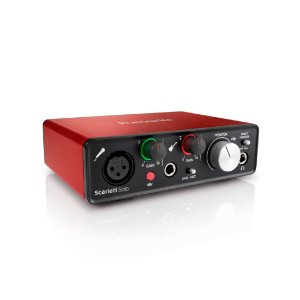 INTERFACE DE AUDIO - SCARLETT SOLO - FOCUSRITE - 3 GERAÇÃO