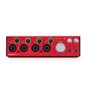 INTERFACE DE AUDIO THUNDERBOLT CLARETT 4PRE 18/8 - FOCUSRITE