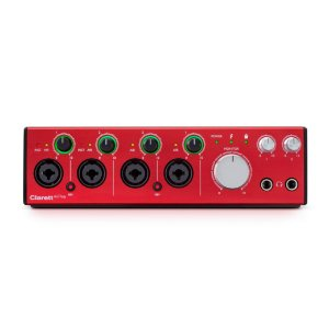 INTERFACE DE AUDIO THUNDERBOLT CLARETT 2PRE 10/4 - FOCUSRITE