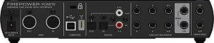 Interface de áudio - FCA610 - Behringer