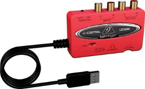Interface de audio - UCA222 - Behringer