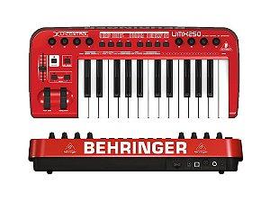 Controlador USB/MIDI - UMX250 - Behringer