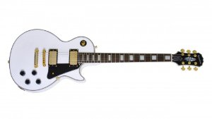 GUITARRA EPIPHONE LES PAUL CUSTOM PRO - ALPINE WHITE