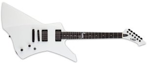 GUITARRA ESP LTD SNAKEBYTE SNOW WHITE COM CASE - JAMES HEITFIELD