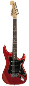 Guitarra Washburn S2HMRD verm. Capta H/S/S, headstock inver.